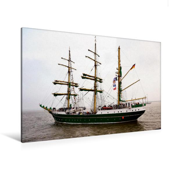 Premium Textil-Leinwand 120 cm x 80 cm quer, Alexander von Humboldt II | Wandbild, Bild auf Keilrahmen, Fertigbild auf echter Leinwand, Leinwanddruck - Coverbild