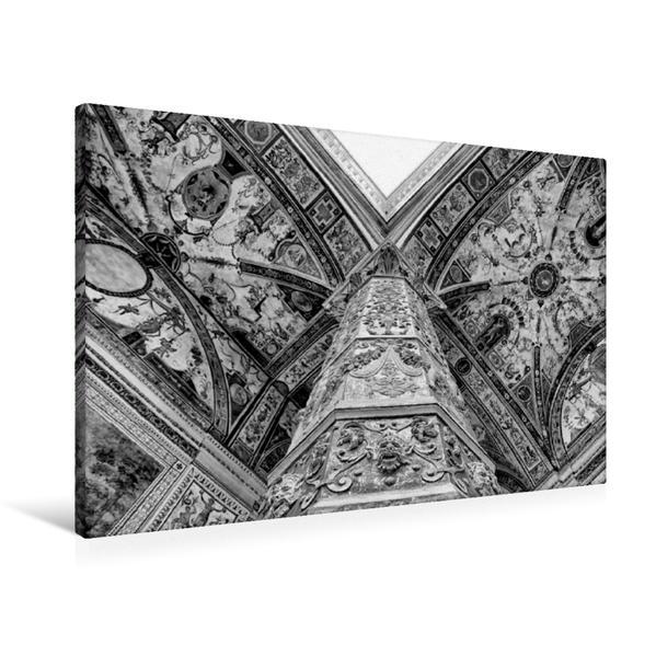 Premium Textil-Leinwand 90 cm x 60 cm quer, Kunst in Florenz | Wandbild, Bild auf Keilrahmen, Fertigbild auf echter Leinwand, Leinwanddruck - Coverbild