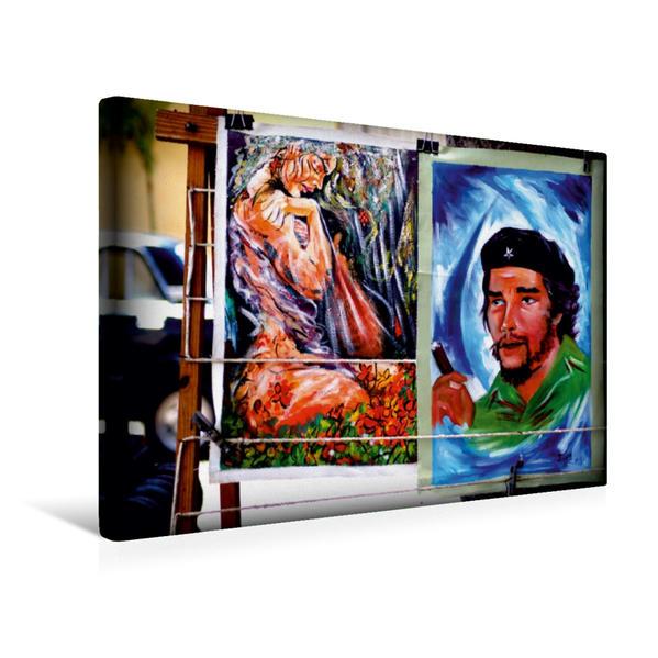 Premium Textil-Leinwand 45 cm x 30 cm quer, Ein Motiv aus dem Kalender CUBA EROTICA | Wandbild, Bild auf Keilrahmen, Fertigbild auf echter Leinwand, Leinwanddruck - Coverbild
