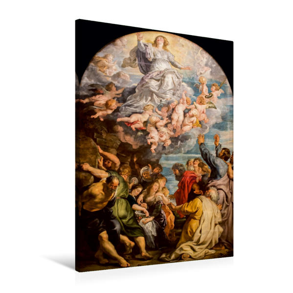 Premium Textil-Leinwand 60 cm x 90 cm hoch, Ein Motiv aus dem Kalender Altarmalerei | Wandbild, Bild auf Keilrahmen, Fertigbild auf echter Leinwand, Leinwanddruck - Coverbild