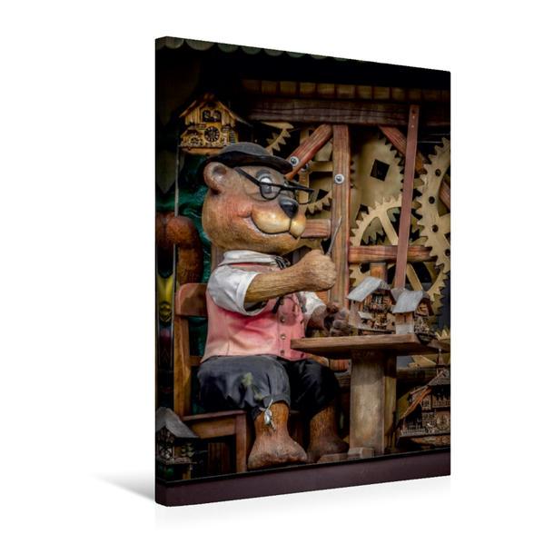 Premium Textil-Leinwand 50 cm x 75 cm hoch, Der Hersteller von Kuckucke | Wandbild, Bild auf Keilrahmen, Fertigbild auf echter Leinwand, Leinwanddruck - Coverbild