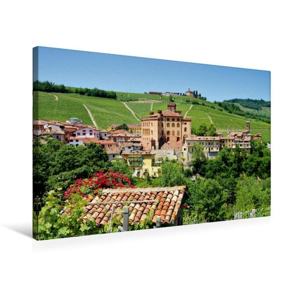 Premium Textil-Leinwand 75 cm x 50 cm quer, Barolo   Wandbild, Bild auf Keilrahmen, Fertigbild auf echter Leinwand, Leinwanddruck - Coverbild