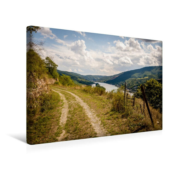 Premium Textil-Leinwand 45 cm x 30 cm quer, Lorcher Werth | Wandbild, Bild auf Keilrahmen, Fertigbild auf echter Leinwand, Leinwanddruck - Coverbild