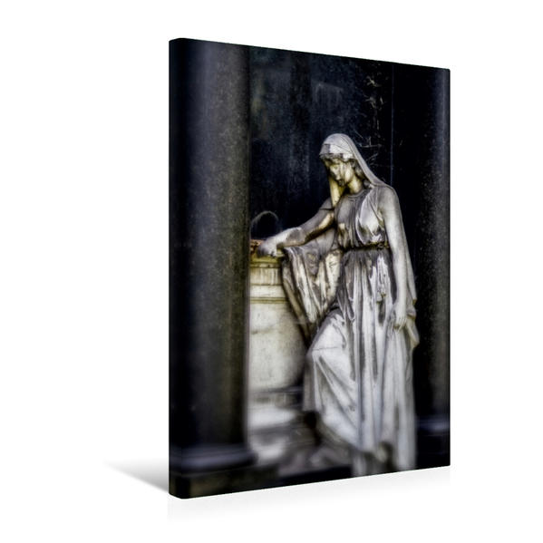 Premium Textil-Leinwand 30 cm x 45 cm hoch, Ein Motiv aus dem Kalender Stille Wächter | Wandbild, Bild auf Keilrahmen, Fertigbild auf echter Leinwand, Leinwanddruck - Coverbild