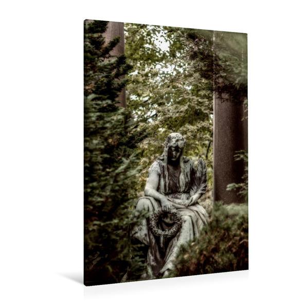 Premium Textil-Leinwand 80 cm x 120 cm  hoch, Ein Motiv aus dem Kalender Stille Wächter | Wandbild, Bild auf Keilrahmen, Fertigbild auf echter Leinwand, Leinwanddruck - Coverbild