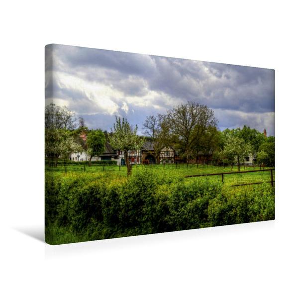 Premium Textil-Leinwand 45 cm x 30 cm quer, Wachendorf in der Voreifel | Wandbild, Bild auf Keilrahmen, Fertigbild auf echter Leinwand, Leinwanddruck - Coverbild