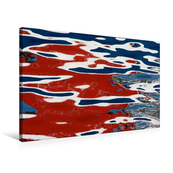 Premium Textil-Leinwand 75 cm x 50 cm quer, Ein Motiv aus dem Kalender OBERFLÄCHLICH 2017 / CH-Version / Planer   Wandbild, Bild auf Keilrahmen, Fertigbild auf echter Leinwand, Leinwanddruck - Coverbild