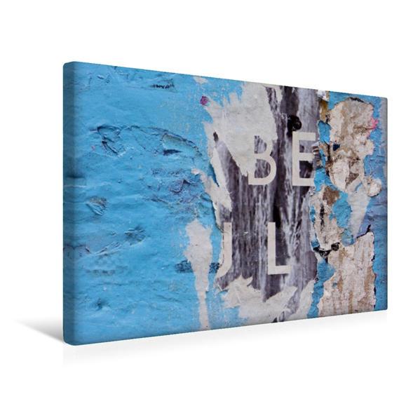 Premium Textil-Leinwand 45 cm x 30 cm quer, Ein Motiv aus dem Kalender Plakatabrisse 2017 - Die Kunst des Zufalls / Planer | Wandbild, Bild auf Keilrahmen, Fertigbild auf echter Leinwand, Leinwanddruck - Coverbild