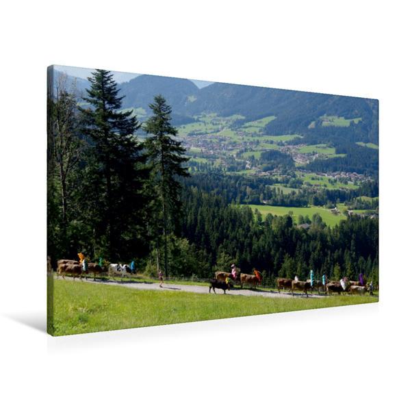 Premium Textil-Leinwand 90 cm x 60 cm quer, Auf dem Weg durch das
