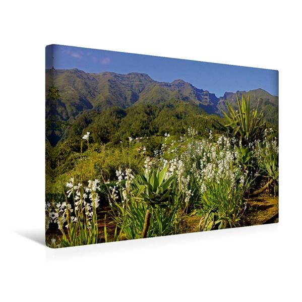 Premium Textil-Leinwand 45 cm x 30 cm quer, Nordseite | Wandbild, Bild auf Keilrahmen, Fertigbild auf echter Leinwand, Leinwanddruck - Coverbild