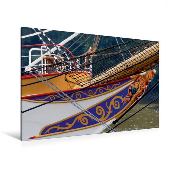 Premium Textil-Leinwand 120 cm x 80 cm quer, Bugzier | Wandbild, Bild auf Keilrahmen, Fertigbild auf echter Leinwand, Leinwanddruck - Coverbild