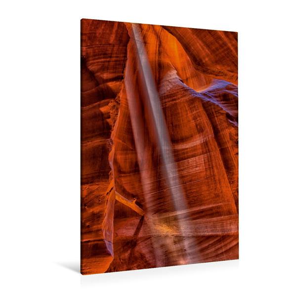 Premium Textil-Leinwand 80 cm x 120 cm  hoch, Ein Motiv aus dem Kalender Das Beste vom Antelope Canyon | Wandbild, Bild auf Keilrahmen, Fertigbild auf echter Leinwand, Leinwanddruck - Coverbild