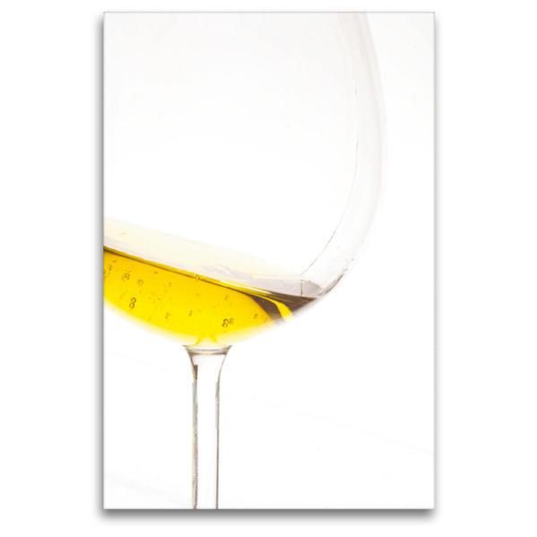 Premium Textil-Leinwand 80 cm x 120 cm  hoch, Ein Motiv aus dem Kalender Wein-Genuss & Stil   Wandbild, Bild auf Keilrahmen, Fertigbild auf echter Leinwand, Leinwanddruck - Coverbild