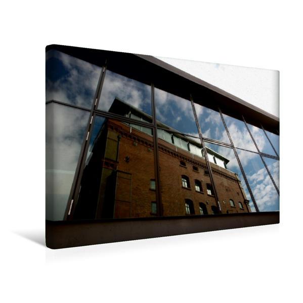 Premium Textil-Leinwand 45 cm x 30 cm quer, Universitätsbibliothek Weimar | Wandbild, Bild auf Keilrahmen, Fertigbild auf echter Leinwand, Leinwanddruck - Coverbild
