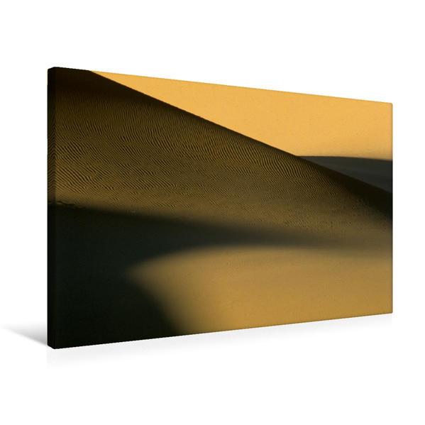 Premium Textil-Leinwand 75 cm x 50 cm quer, Ein Motiv aus dem Kalender Sahara-Sand | Wandbild, Bild auf Keilrahmen, Fertigbild auf echter Leinwand, Leinwanddruck - Coverbild