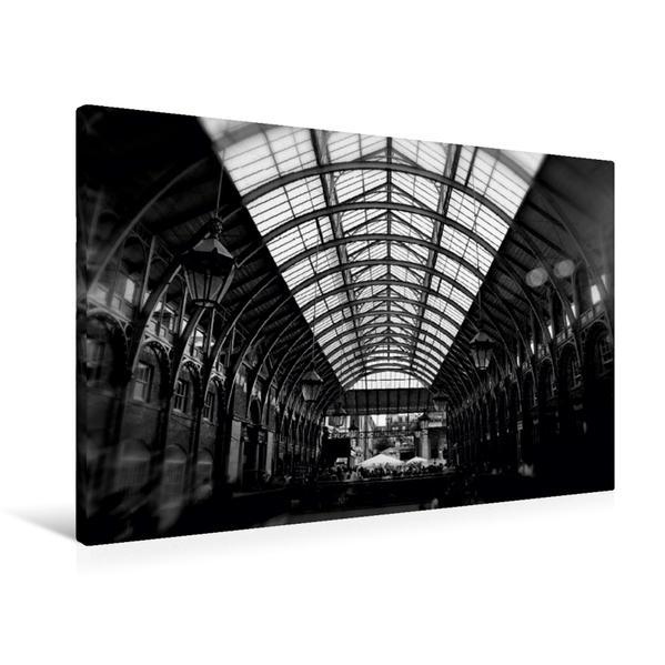 Premium Textil-Leinwand 90 cm x 60 cm quer, Covent Garden Market | Wandbild, Bild auf Keilrahmen, Fertigbild auf echter Leinwand, Leinwanddruck - Coverbild