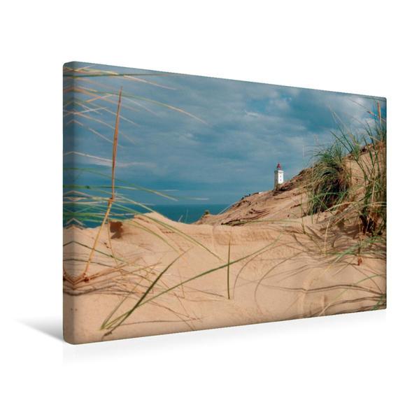 Premium Textil-Leinwand 45 cm x 30 cm quer, Rubjerg Kunde   Wandbild, Bild auf Keilrahmen, Fertigbild auf echter Leinwand, Leinwanddruck - Coverbild