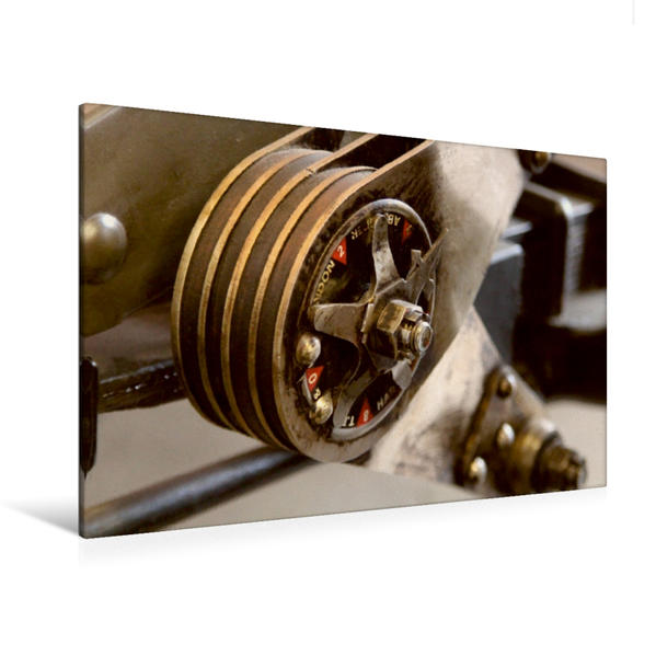 Premium Textil-Leinwand 120 cm x 80 cm quer, Belastbar | Wandbild, Bild auf Keilrahmen, Fertigbild auf echter Leinwand, Leinwanddruck - Coverbild