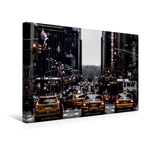 Premium Textil-Leinwand 45 cm x 30 cm quer, Ein Motiv aus dem Kalender Zu Besuch in New York   Wandbild, Bild auf Keilrahmen, Fertigbild auf echter Leinwand, Leinwanddruck - Coverbild