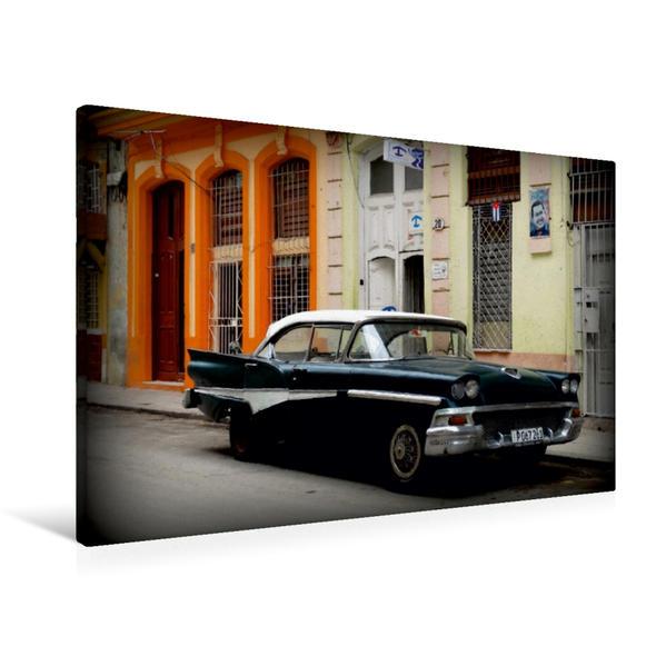 Premium Textil-Leinwand 90 cm x 60 cm quer, Ford Fairlane 500 - Ein Motiv aus dem Kalender