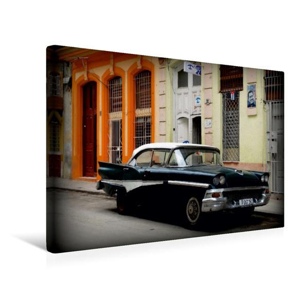 Premium Textil-Leinwand 45 cm x 30 cm quer, Ford Fairlane 500 - Ein Motiv aus dem Kalender
