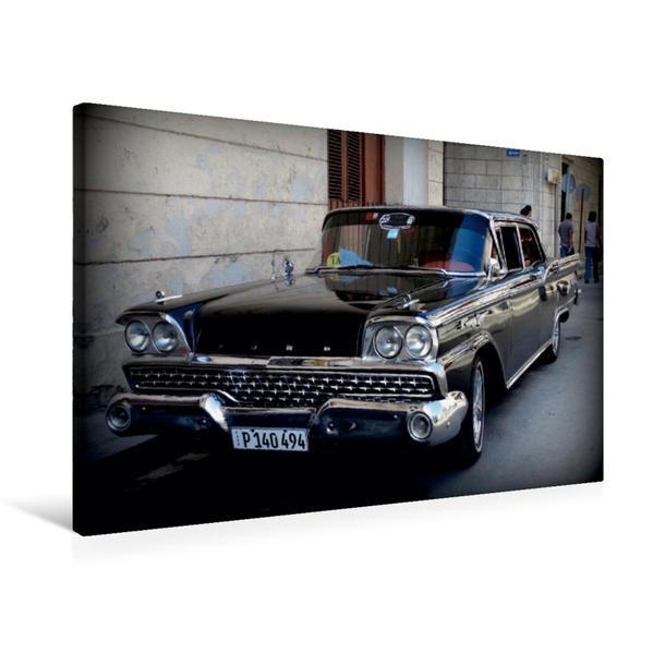 Premium Textil-Leinwand 75 cm x 50 cm quer, Ford 1959 - Ein Motiv aus dem Kalender