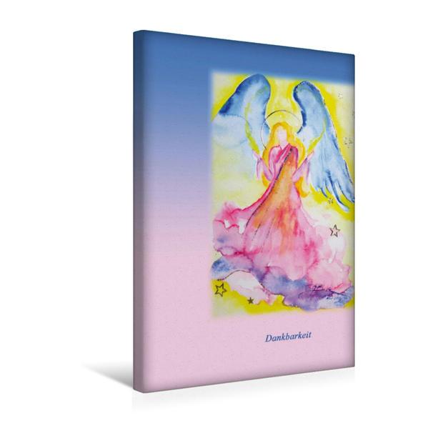 Premium Textil-Leinwand 30 cm x 45 cm hoch, Ein Motiv aus dem Kalender Engelhafte Lichtbegleiter | Wandbild, Bild auf Keilrahmen, Fertigbild auf echter Leinwand, Leinwanddruck - Coverbild