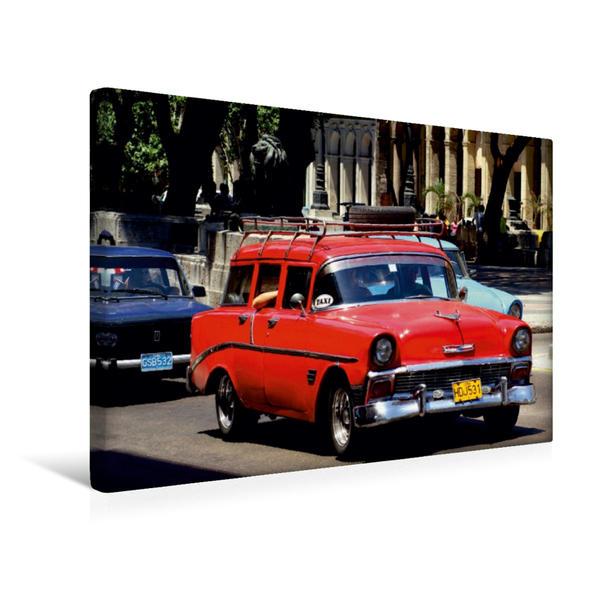 Premium Textil-Leinwand 45 cm x 30 cm quer, Chevrolet Station Wagon - Ein Motiv aus dem Kalender