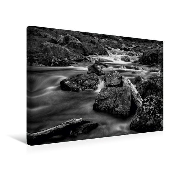Premium Textil-Leinwand 45 cm x 30 cm quer, Altes Holz | Wandbild, Bild auf Keilrahmen, Fertigbild auf echter Leinwand, Leinwanddruck - Coverbild
