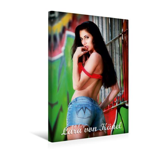 Premium Textil-Leinwand 30 cm x 45 cm hoch, Ein Motiv aus dem Kalender Lara von Känel Outdoor | Wandbild, Bild auf Keilrahmen, Fertigbild auf echter Leinwand, Leinwanddruck - Coverbild