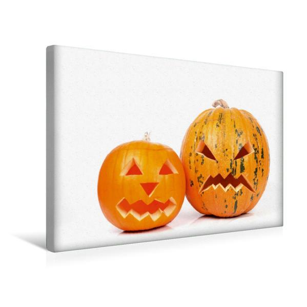 Premium Textil-Leinwand 45 cm x 30 cm quer, Halloween | Wandbild, Bild auf Keilrahmen, Fertigbild auf echter Leinwand, Leinwanddruck - Coverbild