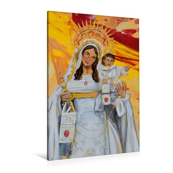 Premium Textil-Leinwand 80 cm x 120 cm  hoch, Ein Motiv aus dem Kalender Flamenco | Wandbild, Bild auf Keilrahmen, Fertigbild auf echter Leinwand, Leinwanddruck - Coverbild