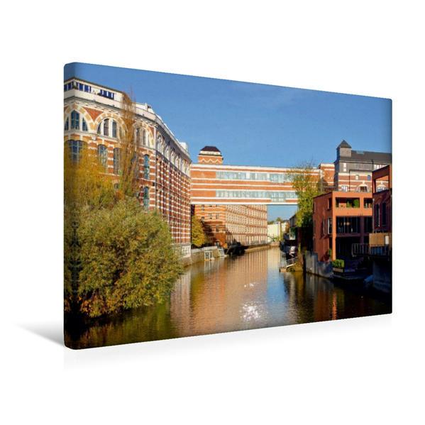 Premium Textil-Leinwand 45 cm x 30 cm quer, Buntgarnwerke | Wandbild, Bild auf Keilrahmen, Fertigbild auf echter Leinwand, Leinwanddruck - Coverbild