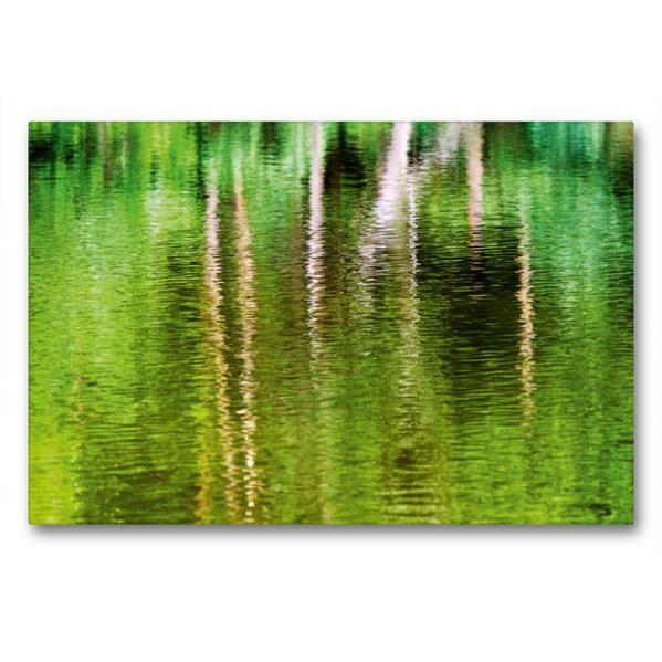 Premium Textil-Leinwand 90 cm x 60 cm quer, Ein Motiv aus dem Kalender Phasen der Stille | Wandbild, Bild auf Keilrahmen, Fertigbild auf echter Leinwand, Leinwanddruck - Coverbild