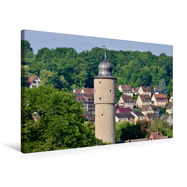 Premium Textil-Leinwand 75 cm x 50 cm quer, Taubenturm | Wandbild, Bild auf Keilrahmen, Fertigbild auf echter Leinwand, Leinwanddruck - Coverbild
