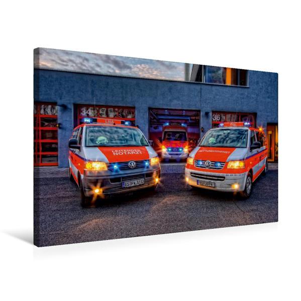 Premium Textil-Leinwand 75 cm x 50 cm quer, LNA/RTW/OrgL BF Braunschweig | Wandbild, Bild auf Keilrahmen, Fertigbild auf echter Leinwand, Leinwanddruck - Coverbild