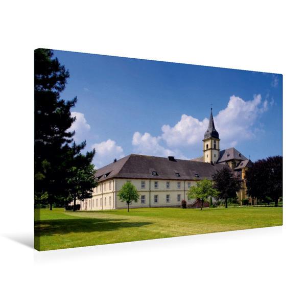Premium Textil-Leinwand 75 cm x 50 cm quer, Kloster Grauhof | Wandbild, Bild auf Keilrahmen, Fertigbild auf echter Leinwand, Leinwanddruck - Coverbild