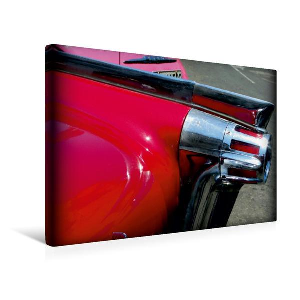 Premium Textil-Leinwand 45 cm x 30 cm quer, OLDSMOBILE Starfire 98 Convertible Coupé - Ein Motiv aus dem Kalender