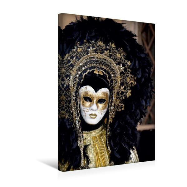 Premium Textil-Leinwand 30 cm x 45 cm hoch, Schwarz und gold   Wandbild, Bild auf Keilrahmen, Fertigbild auf echter Leinwand, Leinwanddruck - Coverbild