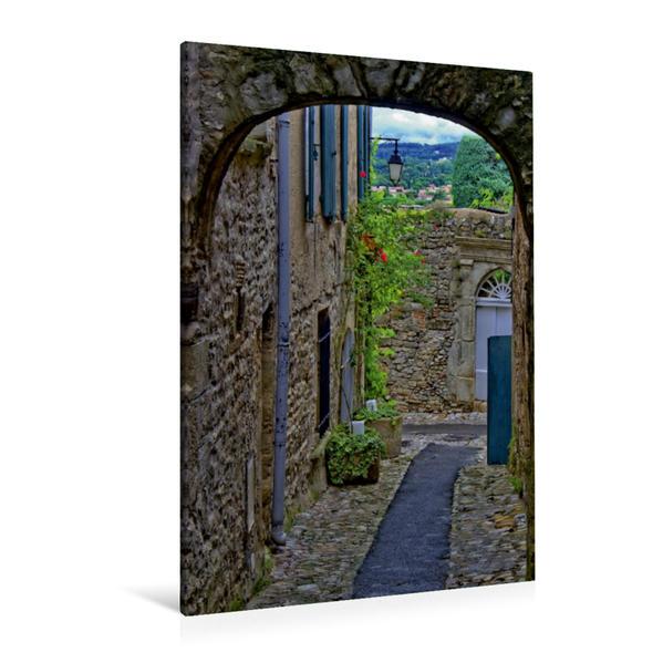 Premium Textil-Leinwand 80 cm x 120 cm  hoch, Vaison la Romaine, Provence   Wandbild, Bild auf Keilrahmen, Fertigbild auf echter Leinwand, Leinwanddruck - Coverbild