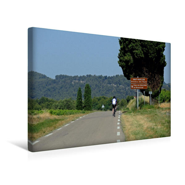 Premium Textil-Leinwand 45 cm x 30 cm quer, Unterwegs | Wandbild, Bild auf Keilrahmen, Fertigbild auf echter Leinwand, Leinwanddruck - Coverbild