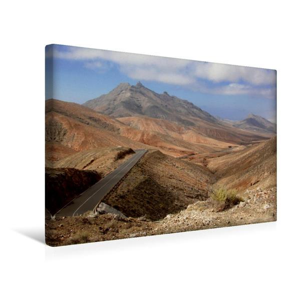 Premium Textil-Leinwand 45 cm x 30 cm quer, Montana Cardón | Wandbild, Bild auf Keilrahmen, Fertigbild auf echter Leinwand, Leinwanddruck - Coverbild