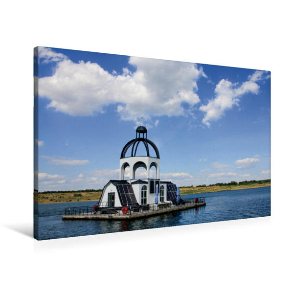 Premium Textil-Leinwand 90 cm x 60 cm quer, Ein Motiv aus dem Kalender VINETA   Wandbild, Bild auf Keilrahmen, Fertigbild auf echter Leinwand, Leinwanddruck - Coverbild