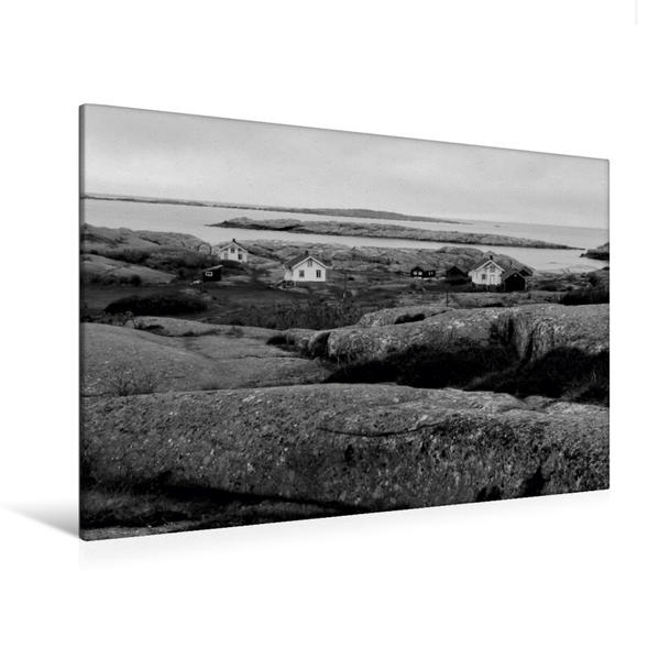 Premium Textil-Leinwand 120 cm x 80 cm quer, Ramsvikslandet   Wandbild, Bild auf Keilrahmen, Fertigbild auf echter Leinwand, Leinwanddruck - Coverbild
