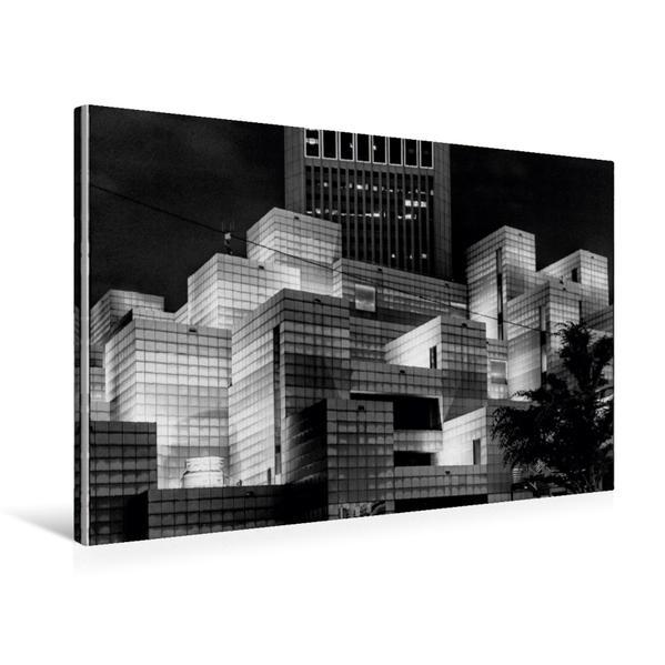 Premium Textil-Leinwand 75 cm x 50 cm quer, Taipeh | Wandbild, Bild auf Keilrahmen, Fertigbild auf echter Leinwand, Leinwanddruck - Coverbild