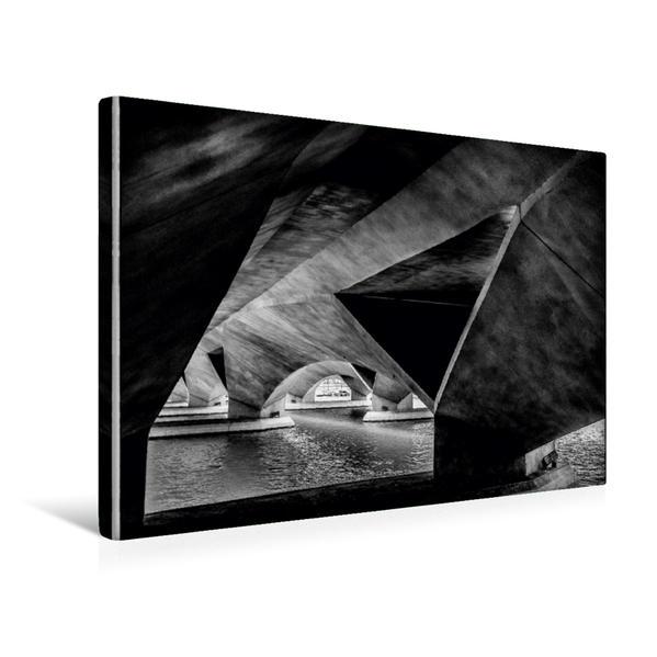 Premium Textil-Leinwand 45 cm x 30 cm quer, Singapur | Wandbild, Bild auf Keilrahmen, Fertigbild auf echter Leinwand, Leinwanddruck - Coverbild