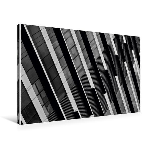 Premium Textil-Leinwand 90 cm x 60 cm quer, Hongkong | Wandbild, Bild auf Keilrahmen, Fertigbild auf echter Leinwand, Leinwanddruck - Coverbild