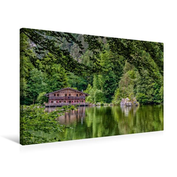 Premium Textil-Leinwand 75 cm x 50 cm quer, Ein Ort zum Relaxen | Wandbild, Bild auf Keilrahmen, Fertigbild auf echter Leinwand, Leinwanddruck - Coverbild