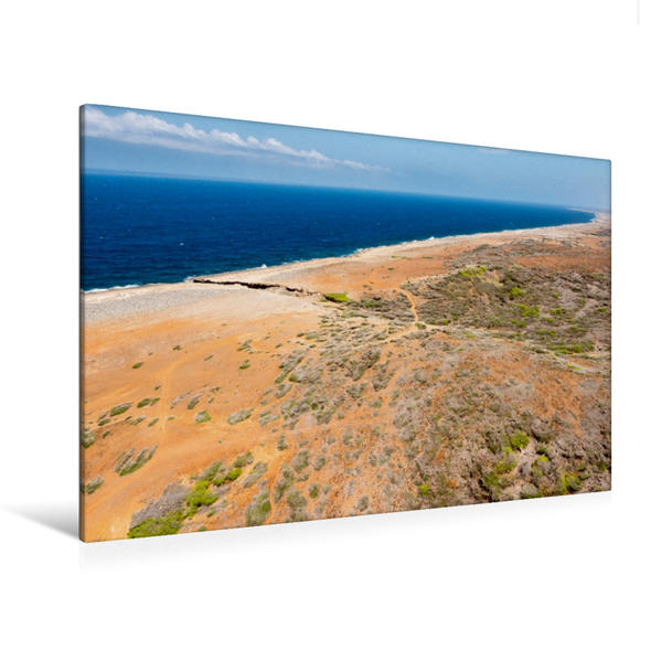 Premium Textil-Leinwand 120 cm x 80 cm quer, North Coast | Wandbild, Bild auf Keilrahmen, Fertigbild auf echter Leinwand, Leinwanddruck - Coverbild