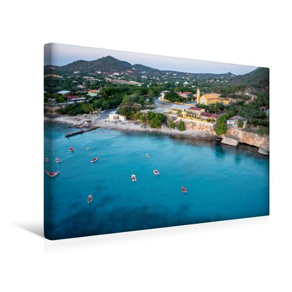Premium Textil-Leinwand 45 cm x 30 cm quer, Mangroves at Playa Sta. Cruz | Wandbild, Bild auf Keilrahmen, Fertigbild auf echter Leinwand, Leinwanddruck - Coverbild